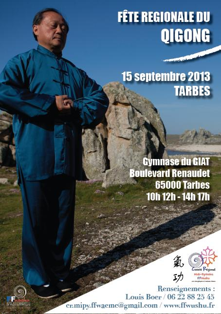 Qi Gong, affiche Tarbes 2013